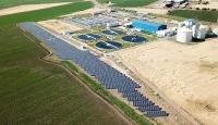 Kahramanmaraş'ta atık su arıtma tesisine güneş enerji santrali kuruldu