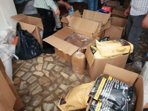 Bahçelievlerde 637 kilogram kaçak tütün ele geçirildi