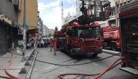 Zeytinburnu'nda iş yeri yangını