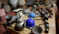 Saray sofralarını serinleten 19. yüzyıla ait mutfak gereçleri ziyaretçilerini bekliyor