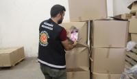Kapıkule'de on binlerce kaçak ticari eşya ele geçirildi
