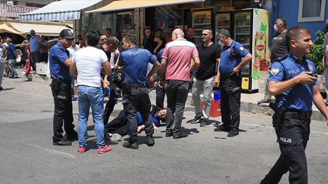 İki polis memurunu yaralayan şüpheli bacağından vurularak yakalandı
