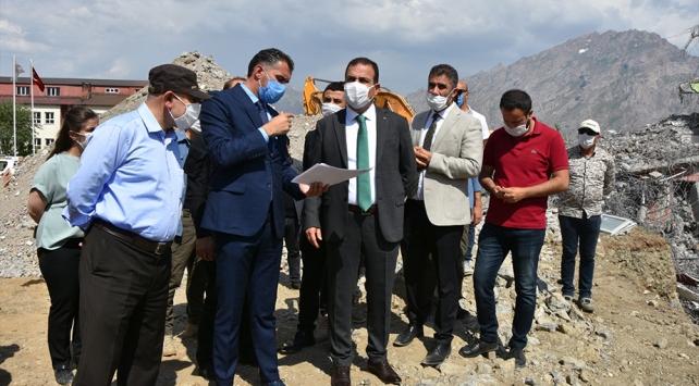 Hakkaride 1000 kişilik öğrenci yurdunun yapımına başlandı