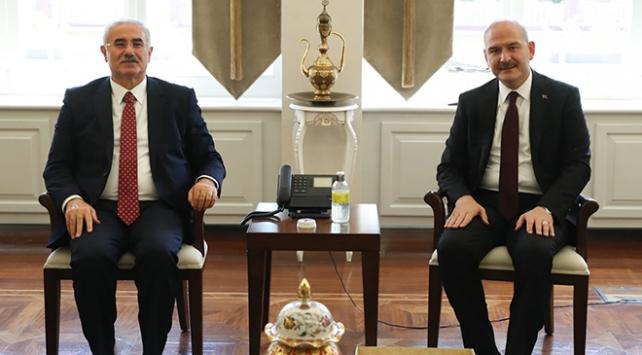 Bakan Soyludan Yargıtay ve Danıştay başkanlarına ziyaret