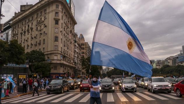 Arjantinde bir günde 3 bin 604 yeni vaka