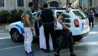 Dolmabahçe'de şüpheli davranışlar sergileyen kişi gözaltında