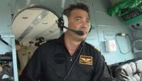 Gelibolu'daki orman yangınına müdahale eden helikopter pilotu yaşadıklarını anlattı