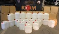 Gaziantep'te 6 ton etil alkol ele geçirildi