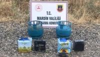 Mardin'de teröristlerin tuzakladığı EYP ele geçirildi