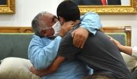 'Evlat nöbeti' tutan bir aile daha çocuğuna kavuştu