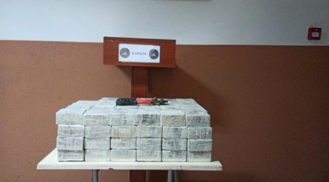 Sınır hattında 51 kilogram uyuşturucu madde ele geçirildi