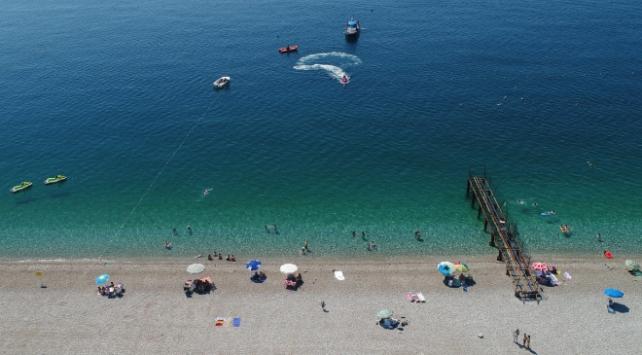 Antalyayı bir haftada 27 bin yabancı turist ziyaret etti