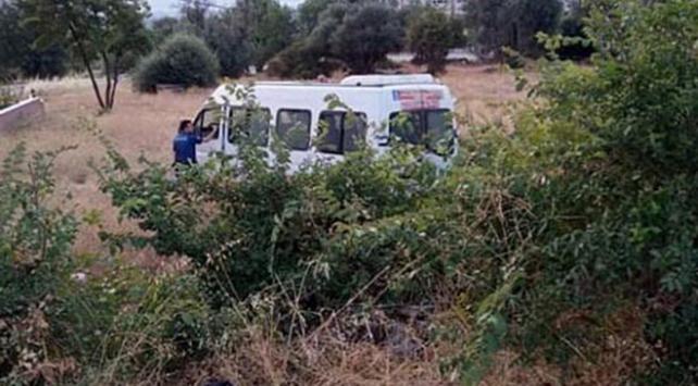Aydında tarım işçilerini taşıyan minibüs devrildi: 18 yaralı