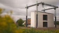 Belçika'da 3 boyutlu yazıcı 2 katlı ev inşa etti