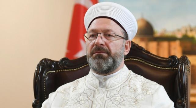 Diyanet İşleri Başkanı Erbaştan 81 il müftülüğüne Covid-19 talimatı