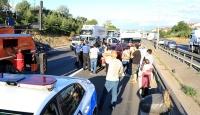Anadolu Otoyolu'ndaki zincirleme kaza trafiği aksattı