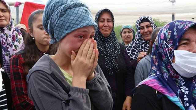 Tarım işçisi Ayşenur'un gözyaşları
