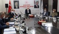 Şanlıurfa'da güvenlik toplantısı yapılıyor