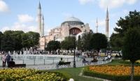 Ayasofya Camii'ne yoğun ilgi