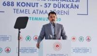 Bakan Kurum: İstanbul'da 300 bin acil dönüştürülmesi gereken konut bulunuyor