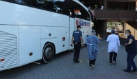 Otobüsle Karabük'e gelen 12 kişiye ev izolasyonu
