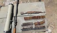 Pençe-Kaplan Operasyonu'nda PKK'ya ait mühimmat ele geçirildi