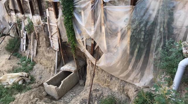 İzmirde inşaat kazısından 2 bin yıllık tarih çıktı