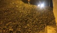 Artvin-Erzurum kara yolu heyelan nedeniyle ulaşıma kapandı
