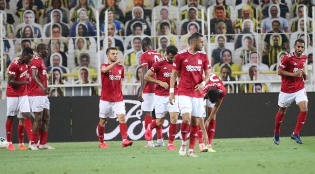 Kadıköyde kazanan Sivasspor