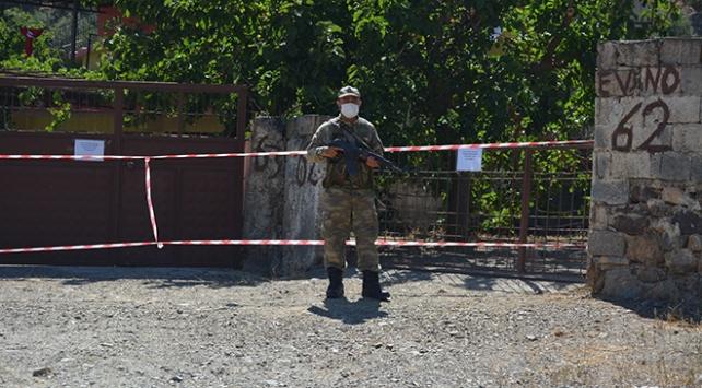 Gaziantepte 6 ev ile 1 iş yeri karantinaya alındı