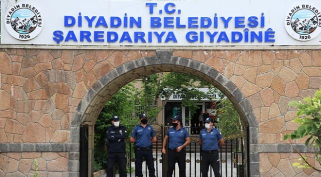 HDPli Diyadin Belediye Başkanı Yaşara terörden gözaltı