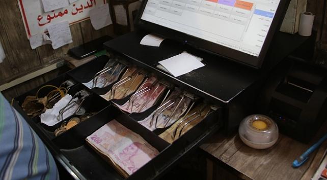 Suriyede güvenli para birimi Türk lirası oldu