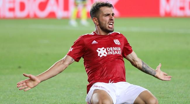 """Sivassporda Emre Kılınç """"gol orucunu"""" bozdu"""