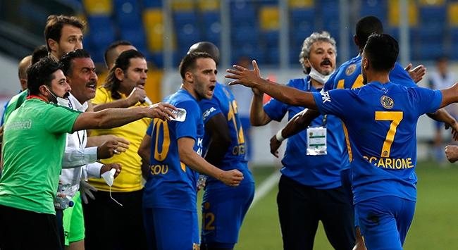 MKE Ankaragücü İbrahim Üzülmez yönetiminde ilk kez kazandı