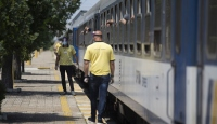 Yılın ilk arabalı treni Kapıkule'den geçti