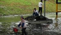 Çin'deki göl ve nehirlerde su seviyesi tehlikeli şekilde yükseliyor