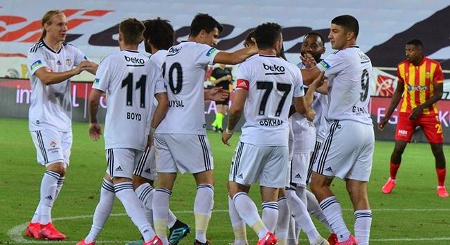 Beşiktaş Malatyada 3 tek golle kazandı