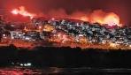 İzmirde makilik alanda yangın