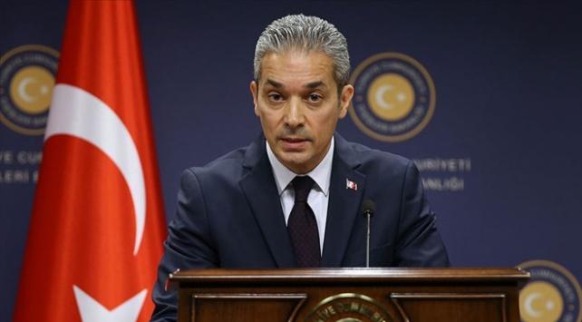 Dışişleri Bakanlığı Sözcüsü Aksoydan Borrellin açıklamalarına tepki