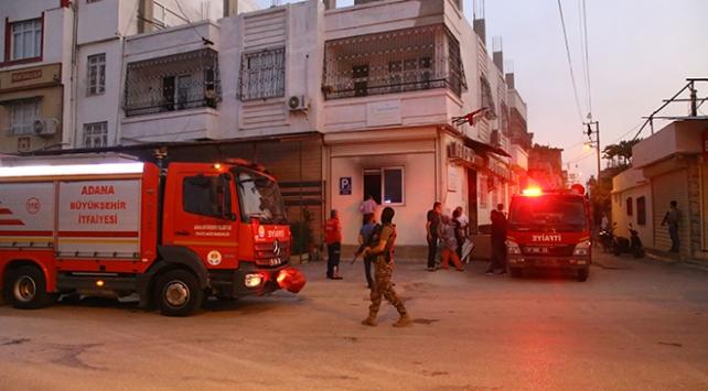 Adanada aile sağlığı merkezinde yangın