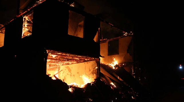 Boluda korkutan yangın: 2 çocuk hayatını kaybetti