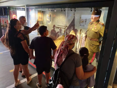 Çanakkale Savaşları Mobil Müzesi Ezinede