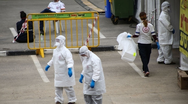 İsrailde COVİD-19 salgınında en yüksek günlük vaka sayısı kaydedildi