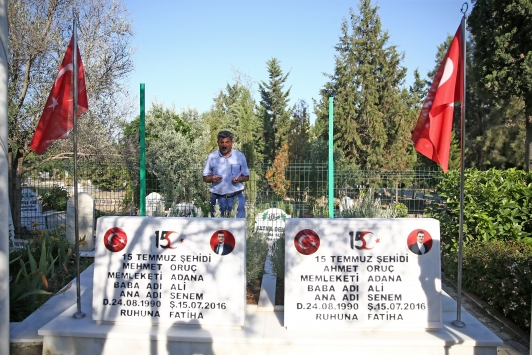 Şehit ikiz polislerin babası Ali Oruç: Evlatsız yaşıyorum ama vatansız yaşayamam
