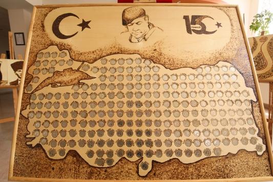 15 Temmuz şehitlerinin ismi Türkiye haritasına nakşedildi