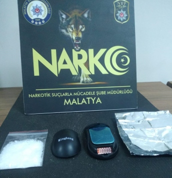 Malatyada uyuşturucu operasyonunda 2 şüpheli tutuklandı