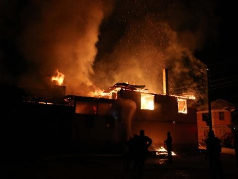 Boluda bir evde çıkan yangında iki çocuk hayatını kaybetti