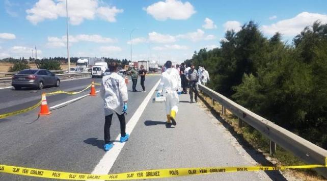 TEM Otoyolunda dehşet: Ceset parçaları bulundu