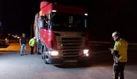 Yük taşımacılığı yapan 328 araç trafikten men edildi