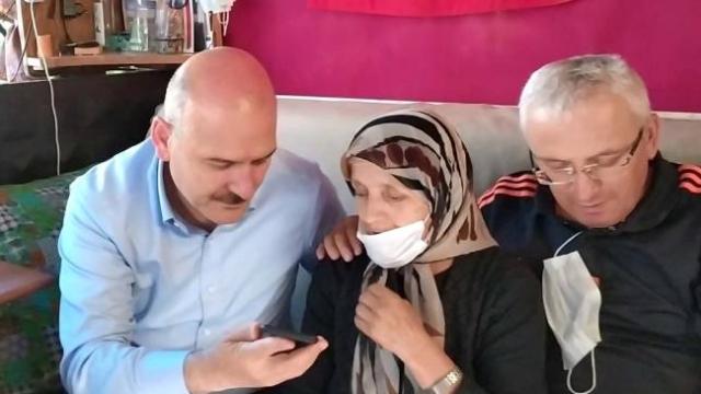 Cumhurbaşkanı Erdoğan, şehit ailesi ile telefonda görüştü